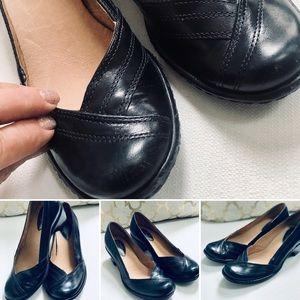 Clark's Artisan Heels Sz 5M Blue Leather NWOB